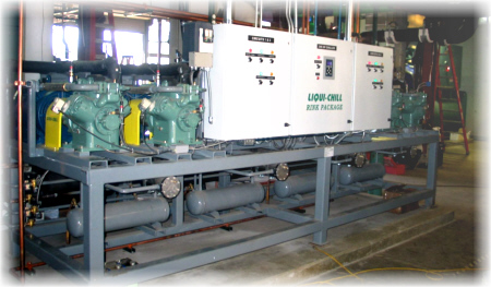 High Efficiency Ise Rink Chiller